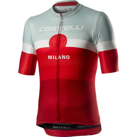Castelli Milano SS Jersey Men red